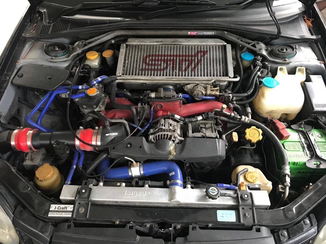 Subaru Impreza WRX STI 2.0 Turbo Original Ver.7 6speed