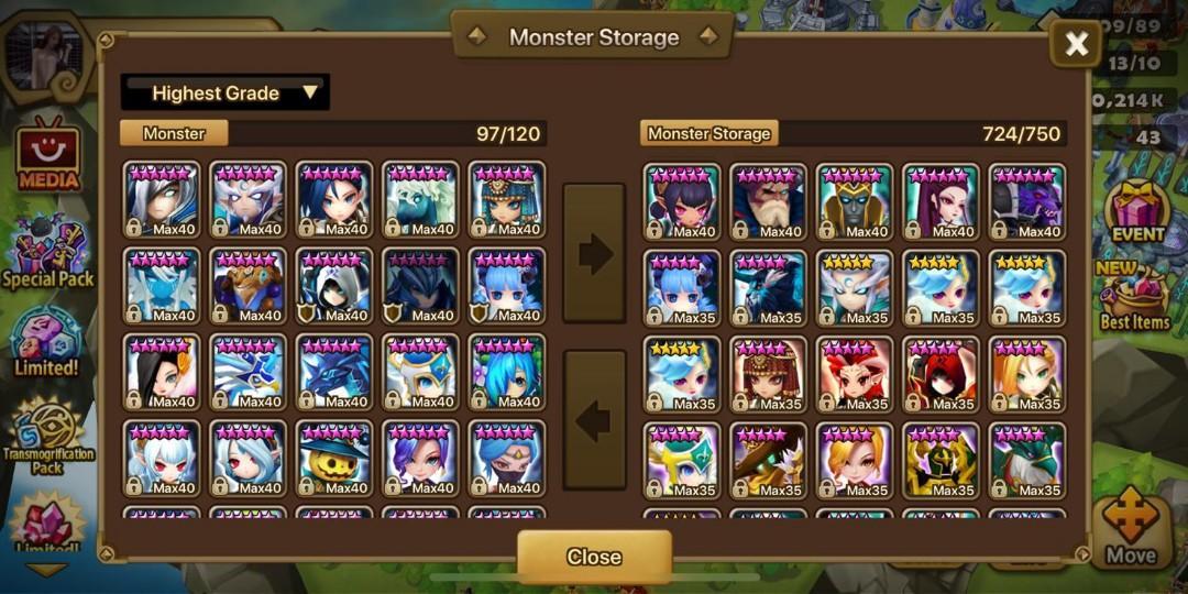 Summoners War Asia G1