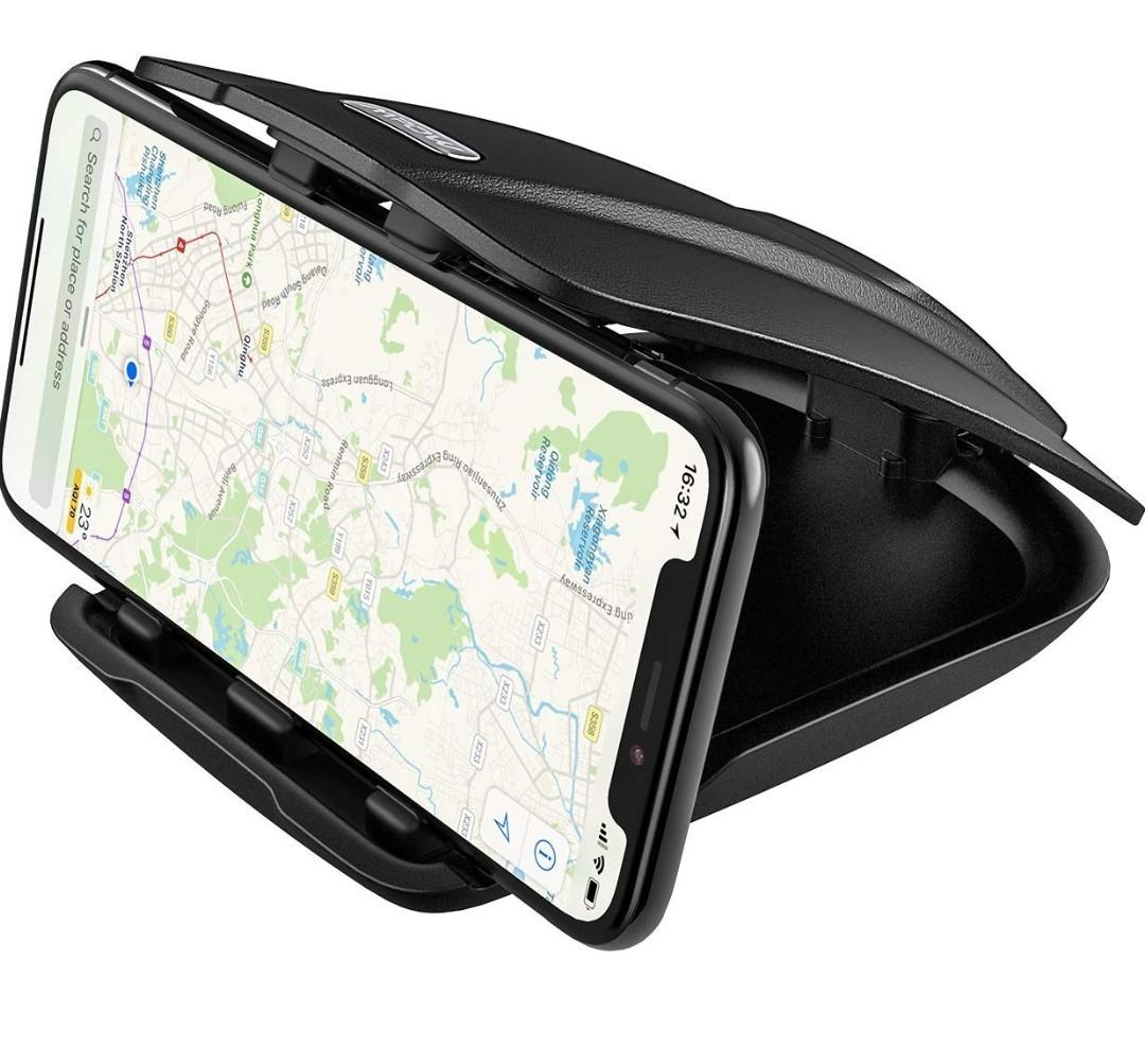 GPS Mpow Dashboard Car Mount Cell Phone with Three Slots for Multiple Angles for iPhone X//8//7// 6 Car Phone Mount Galaxy S7//S7 edge//S8//8 Plus//a5//Note//LG g6 Google Pixel//Nexus Tablet