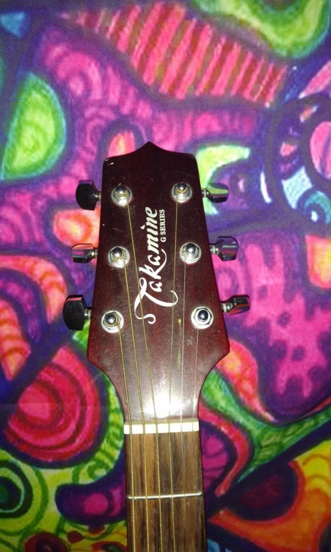 Takamine G Series Mahogany Acoustic guitar
