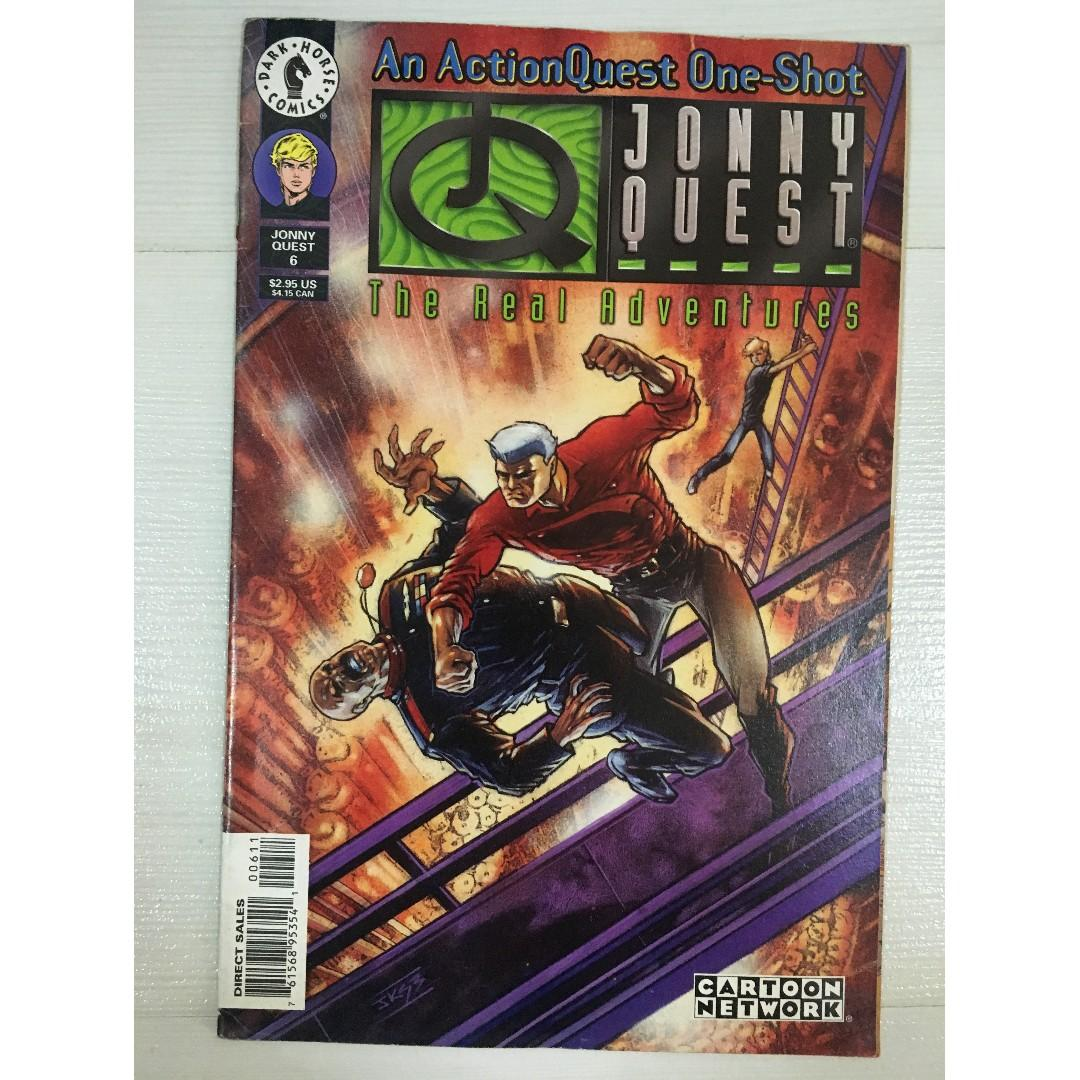 The Real Adventures of JONNY QUEST #6 An action Quest One-Shot by Dark Horse Comics / Cartoon Network (1 February 1997)
