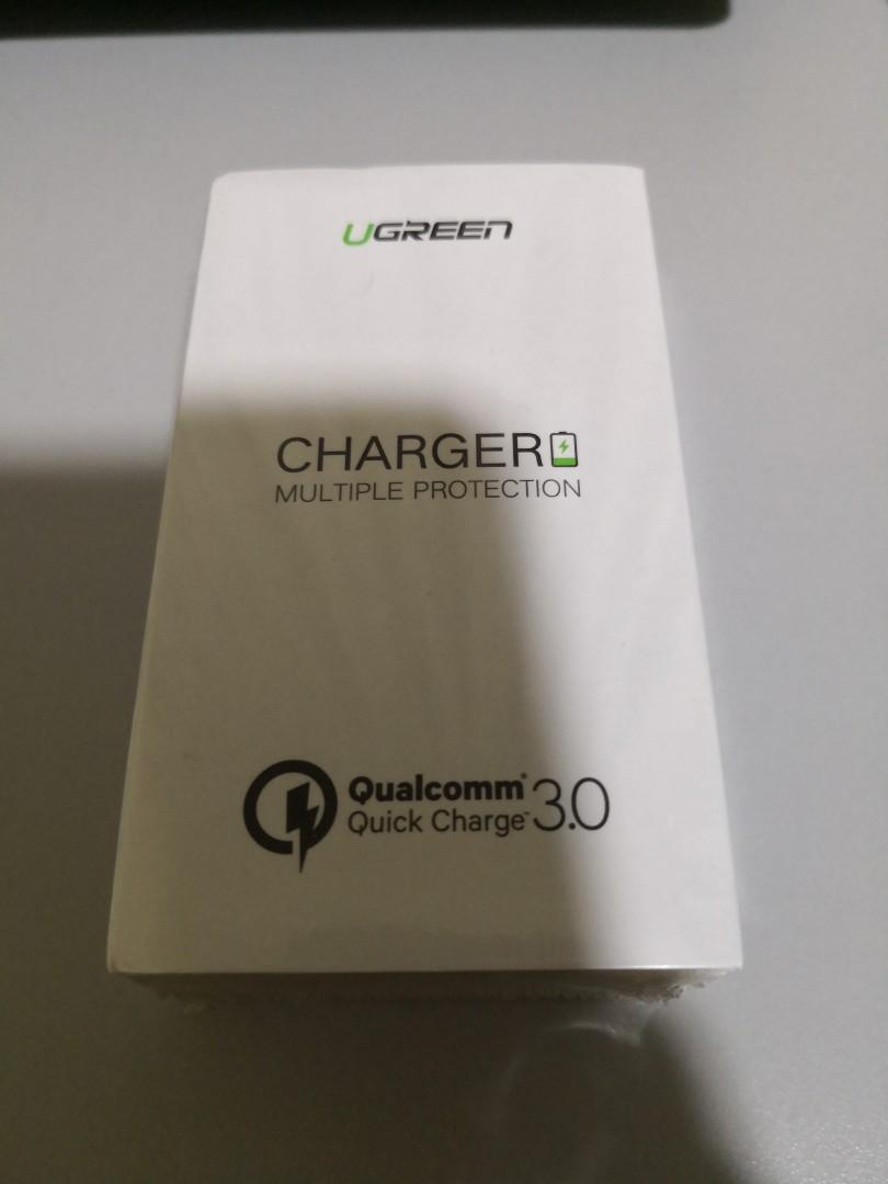Ugreen Quick Charge 3.0 Charger (2 Pin)