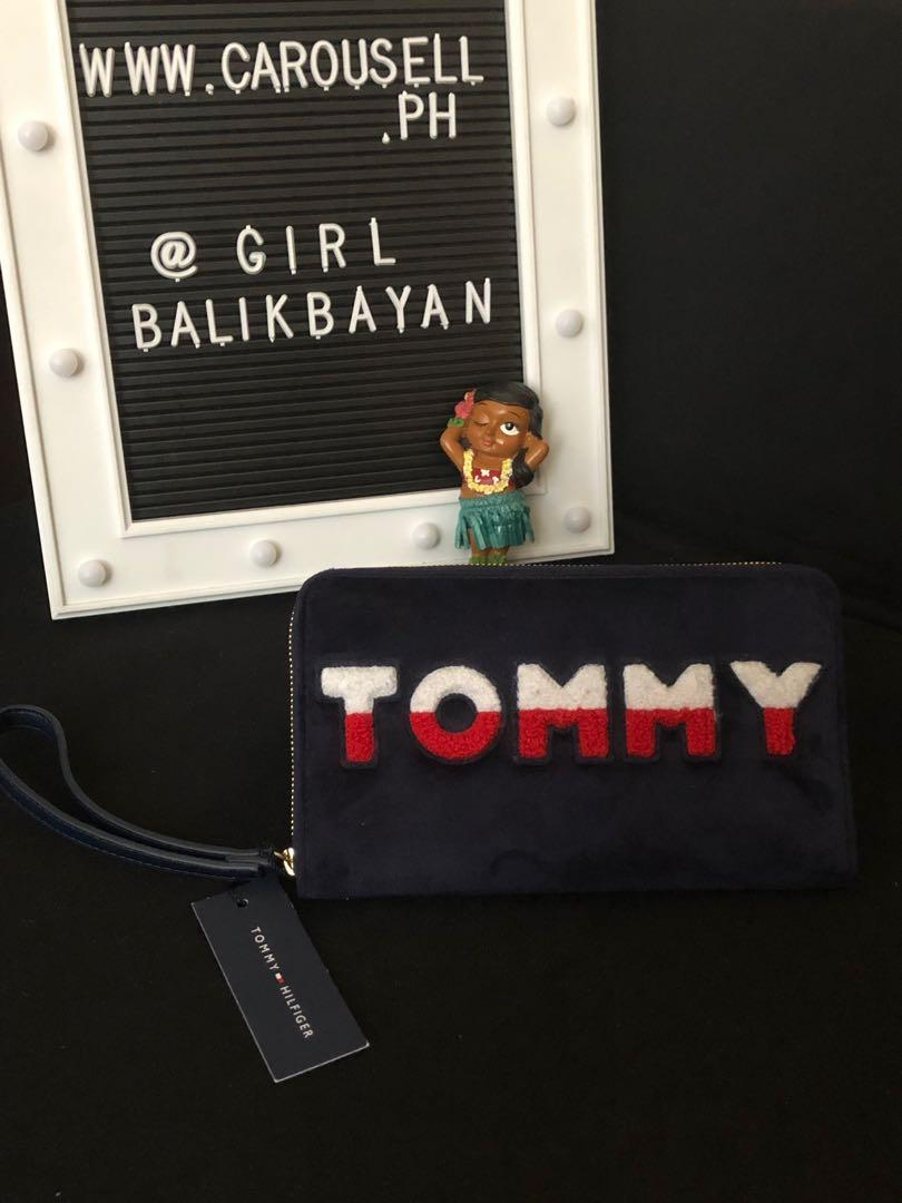 3a839ff089 Unique style, New authentic Tommy Hilfiger wallet on Carousell