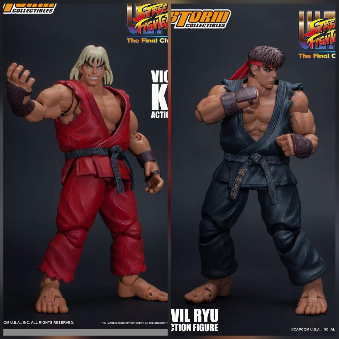 Violent Ken Evil Ryu Ultra Street Fighter Ii 2 Storm