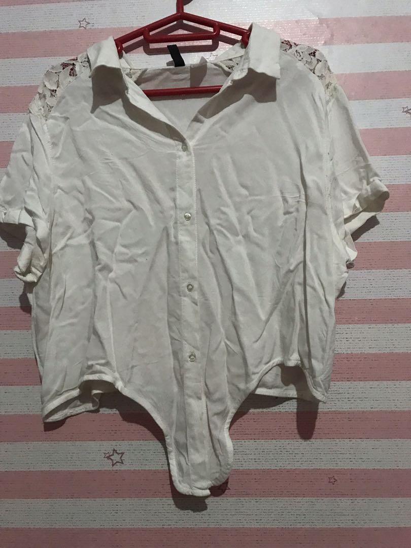 white shirt H&M