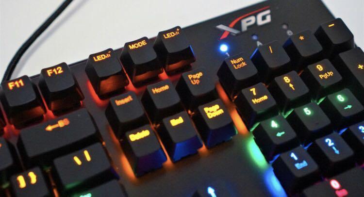 XPG INFAREX K20 Gaming Keyboard