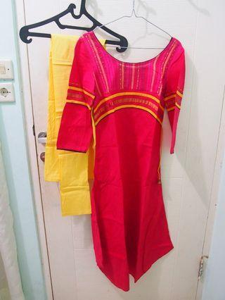 NEW! Baju India Shalwar 1 Set.