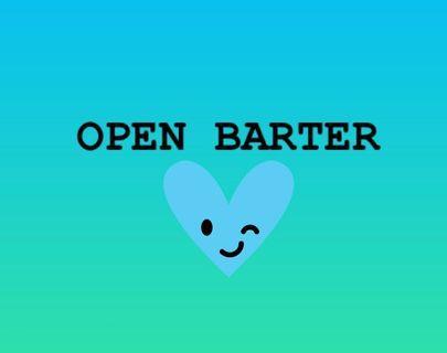 Open Barter yuk