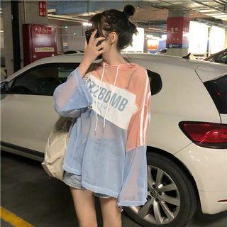 "[PO] 2019 Korean summer style ""buzzbomb"" mesh hoodie"