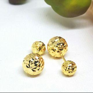 916 Gold Dior Earstud