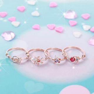 Clue x Wedding Peach Ring 婚紗小天使系列戒指