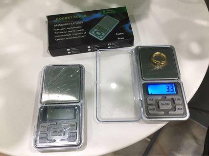 Pocket Scale/ Penimbang emas