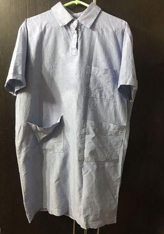 韓國製造🇰🇷韓國品牌Co. 淺藍色連身裙