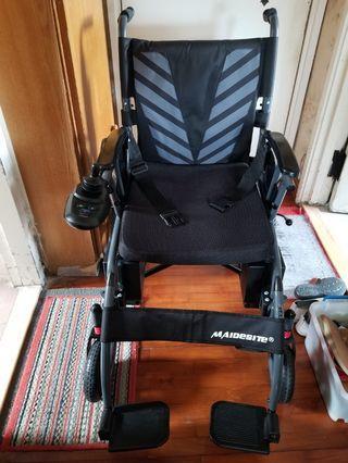 全新 電動輪椅 前後雙避震