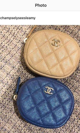 Brand new Chanel coin case