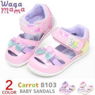 日本正貨Moonstar夢幻小馬bb涼鞋 Baby Shoes 女 粉紅