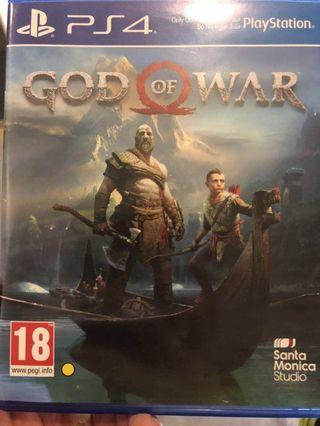 🚚 God of war PS4