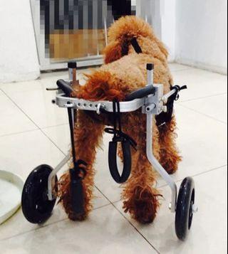寵物後腳癱瘓輔椅(合適9~16KG)