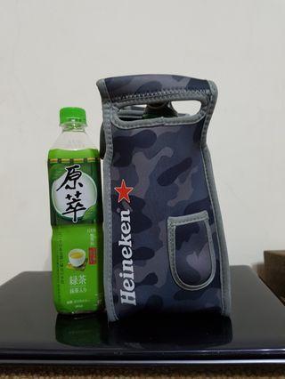 🚚 海尼根迷彩飲料提袋