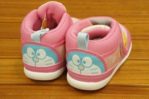 【日本Moonstar X Doraemon】特別版多啦A夢bb波鞋 叮噹 Baby Shoes 13.5