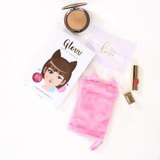 Make up towel glovv