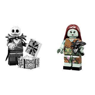 71024 LEGO Disney Minifigures (Jack Skellington and Sally)