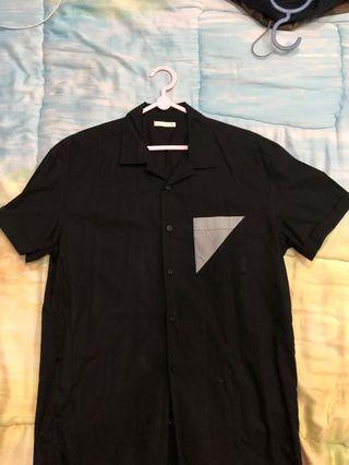 Kemeja Vintage Uniqlo Black