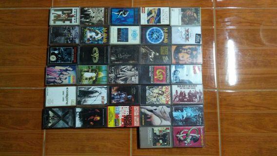 Pelbagai jenis kaset/cassette/tape lagu english
