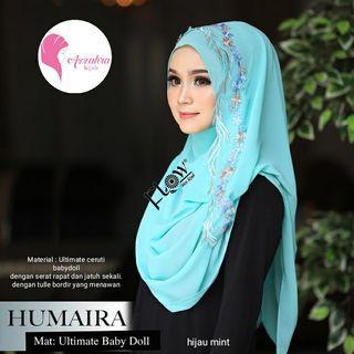 Ny@*INSTANT HUMAIRA ORI FLOW 135.000*  Instant hijab  dengan 2 muka, sangat cantik dan simple 😊.Sangat cocok untuk segala suasana. Material ultimate baby doll cerruti dengan serat rapat dan jatuh sekali.Dengan tulle bordir yang menawan😊