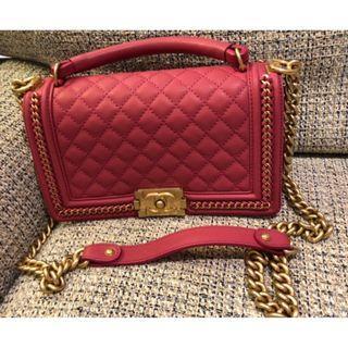 Chanel bag (100% real, 99% new. Full set.)