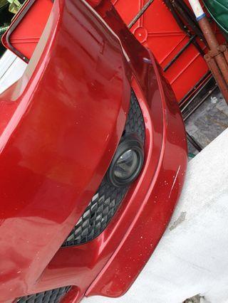 lancer gt 2008 front bumper