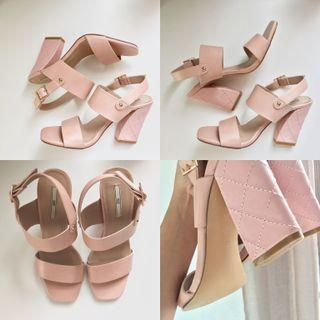 Quilted Heels
