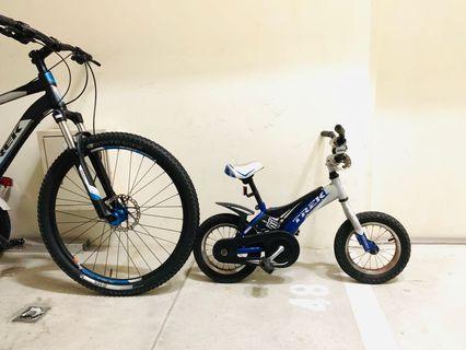 Trek Jet Kid's Bike w training wheels