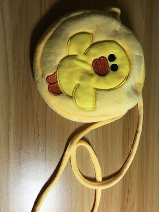 Line 黃色小袋