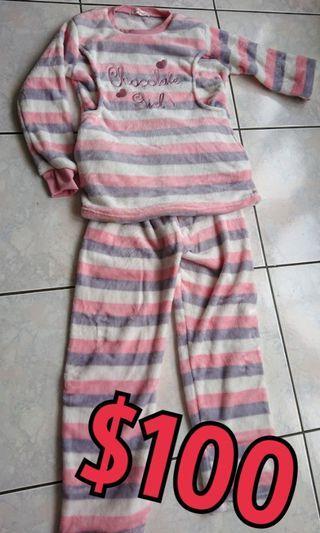 🚚 二手 保暖 孕婦 哺乳衣 套裝 睡衣