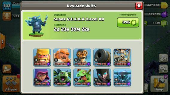 Selling Clash of clan/ COC Account