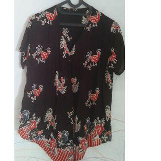 Preloved Batik Top