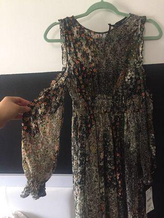 Zara midi dress bnwt