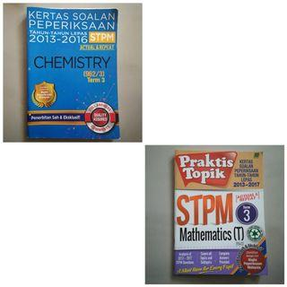 STPM Term 3 Past Year Questions Books