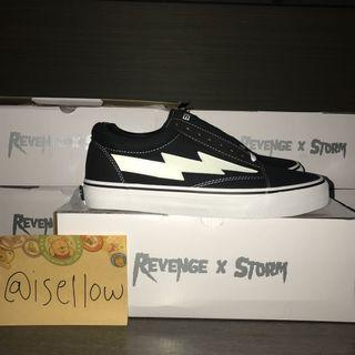 INSTOCK Revenge Storm OG Black Sneaker