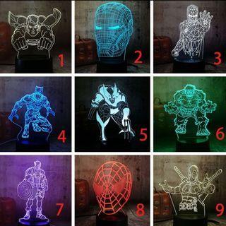 🚚 Marvel Acrylic light