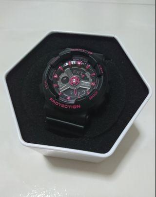 🚚 Casio Baby G Black - Red Model BA 110 (Authentic)