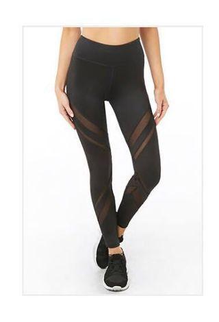 Mesh active/workout leggings
