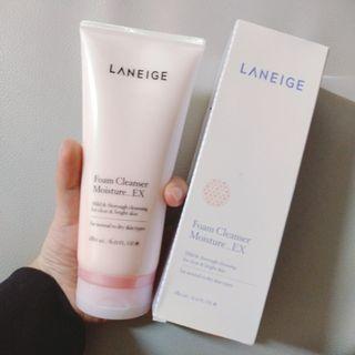 Laneige Foam Cleanser Moisture EX水凝潔膚泡沫180ml