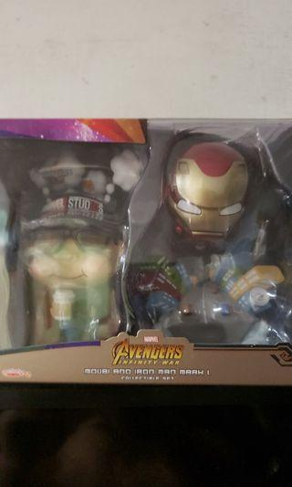 Hottoys cosbaby 10週年+ ironman