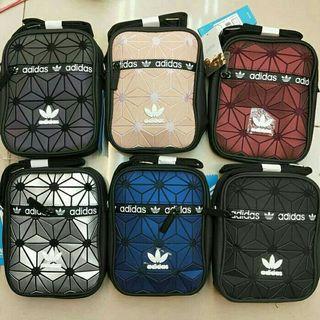Adidas x baobao issey miyake sling messenger bag