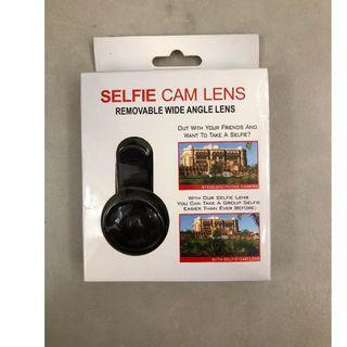 Selfie Camera Lens (Removable Wide Angle Lens)