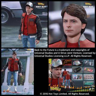 Hottoys Marty Mcfly (SP VER) 馬蒂2.0