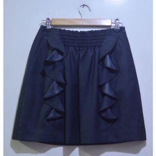 ANATALIER Ruffle A-line Skirt