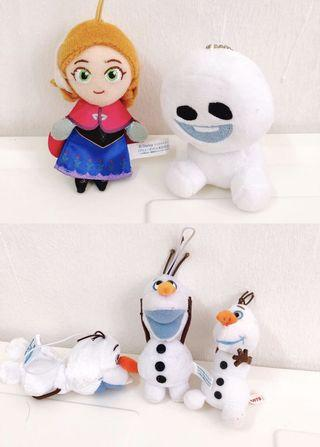 Frozen Doll (included 5)